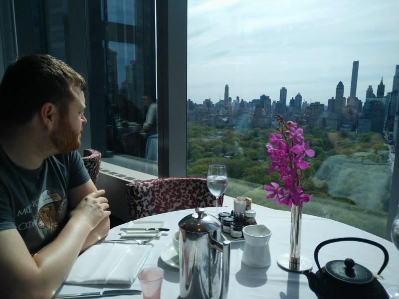 View from Asiate Restaurant in the Mandarin Oriental New York