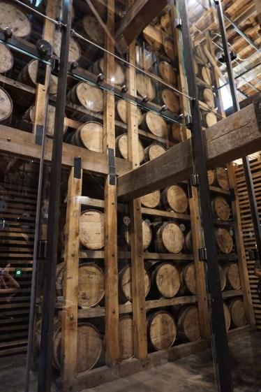 Inside Jack Daniel Barrel House