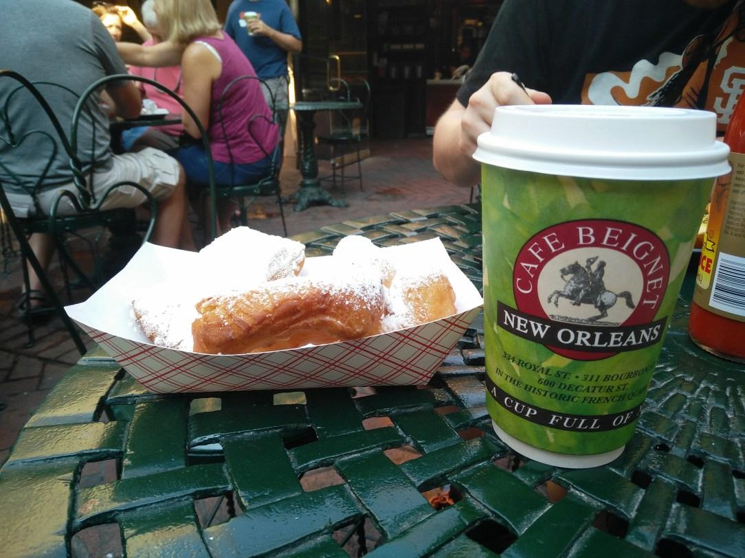 beignets in New Orleans