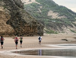 images from the 21 km trail