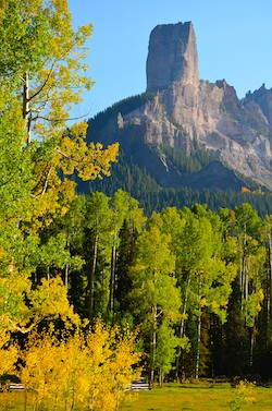 Ridgway Co Peak Fall Foliage On The Dallas Divide Wow