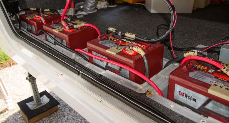 Wet Cell Vs. AGM Batteries & RV Wiring Tips
