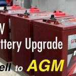 Wet Cell Vs Agm Batteries Rv Wiring Tips
