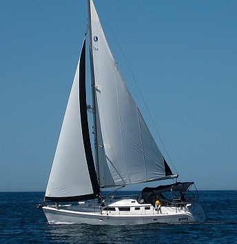 2008 hunter 44ds sailboat