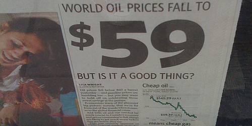 world oil prices falling half empty dec 2008 by lot4a flickr