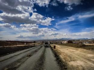 προσεγγίζοντας την La Paz