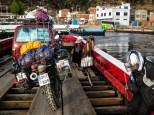στις φορτηγίδες της Copa Cabana