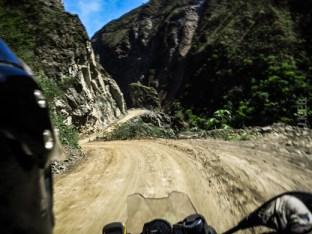 Peru, road to Santa Teresa