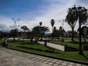 Η κεντρική πλατεία της Cajamarca
