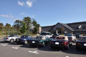 休暇村駐車場1