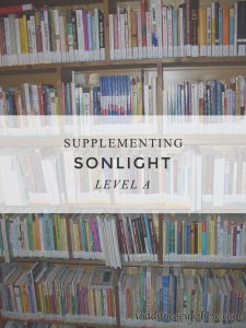 Links for supplementing Sonlight Level A