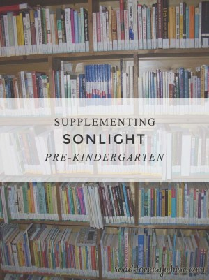 Links for supplementing Sonlight Pre K
