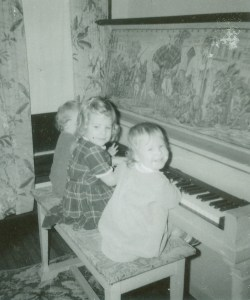 1968 girls and pink piano