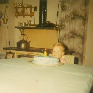 Karla 1966. Age 1.