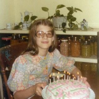 1977. Age 12.