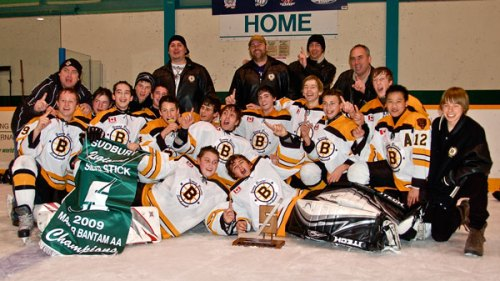 The Scarborough Young Bruins, Sudbury Regional Silver Stick Champions