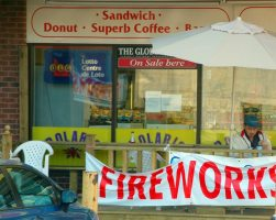 fireworks for sale at store