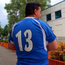 Greek football fan