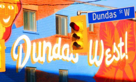 Dundas West mural