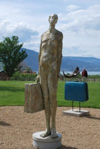 sculpture – Frank the Baggage Handler