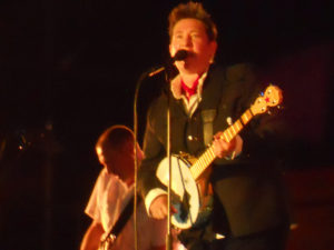 kd lang with banjo