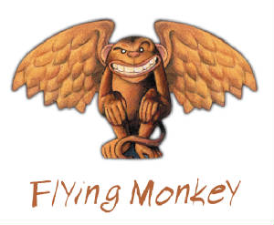 Flying Monkey beer logo