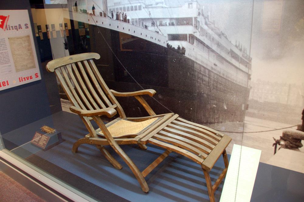 & titanic-deck-chair-exhibit