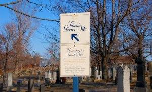 Fairview Cemetery Titanic graves site