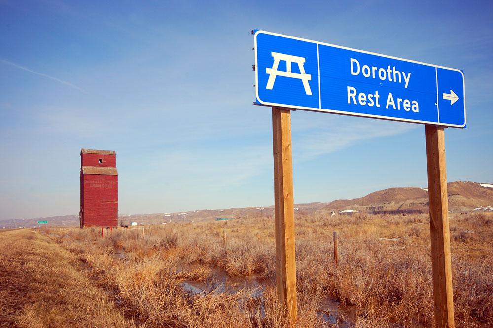 Dorothy grain elevator