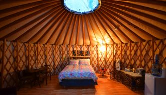 Yurts in Canadian Parks