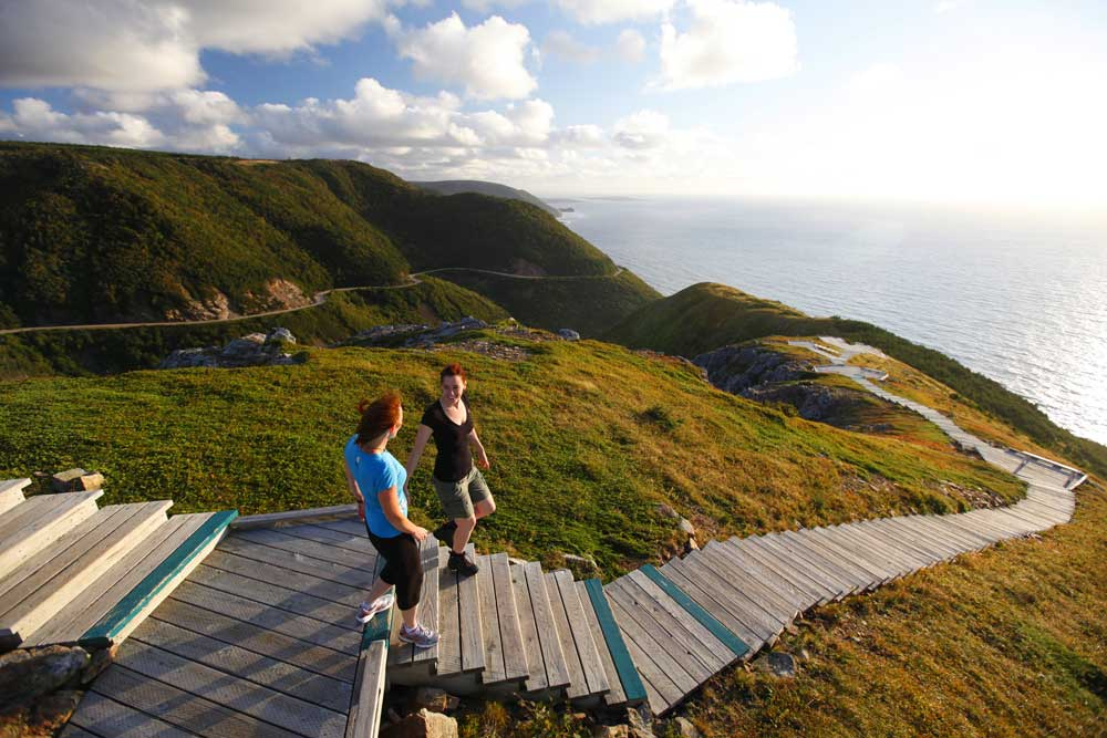 Skyline Trail in Cape Breton Highlands National Park, Nova Scotia