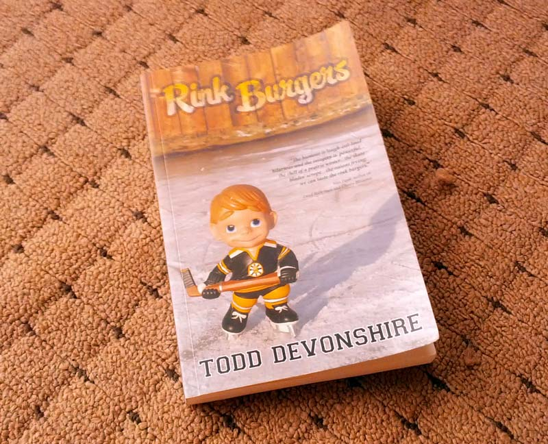 Rink Burgers book by Todd Devonshire