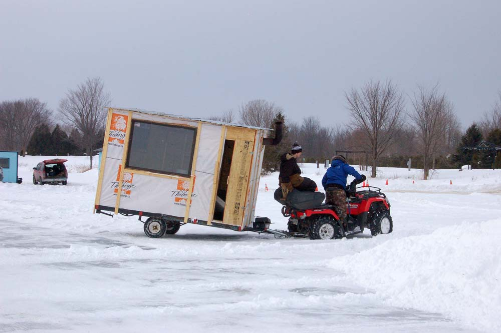 ATV-and-ice-hut