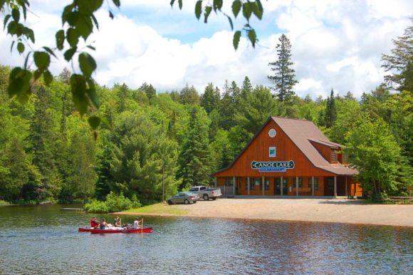 Algonquin-Provincial-Park-Canoe-Lake-Permit-Office