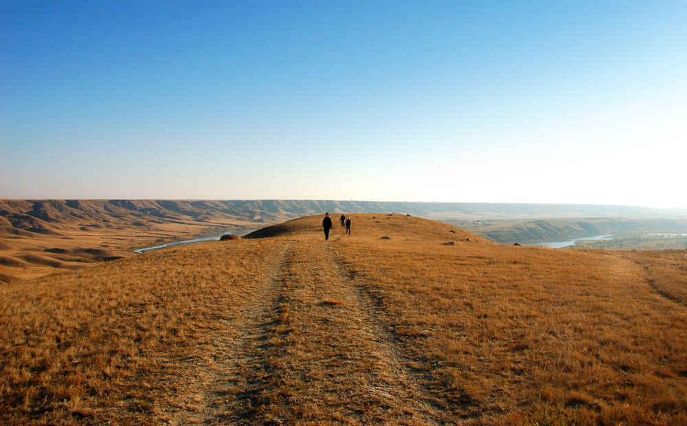 Western Uplands Ranch near the Red Deer River in southeastern Alberta