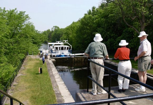 locks near Kingston Ontario