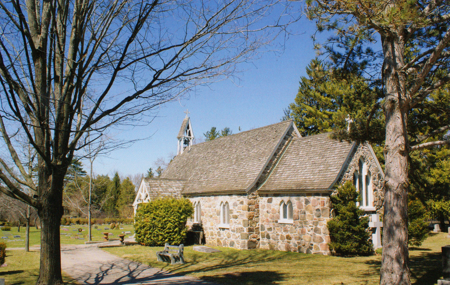church at Roche's Point, Ontario