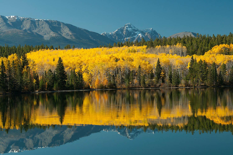 Pyramid Lake, Jasper National Park