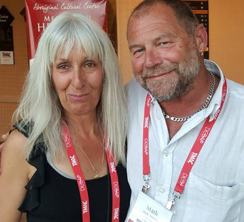 Mark Stevens and Sharon Matthews-Stevens