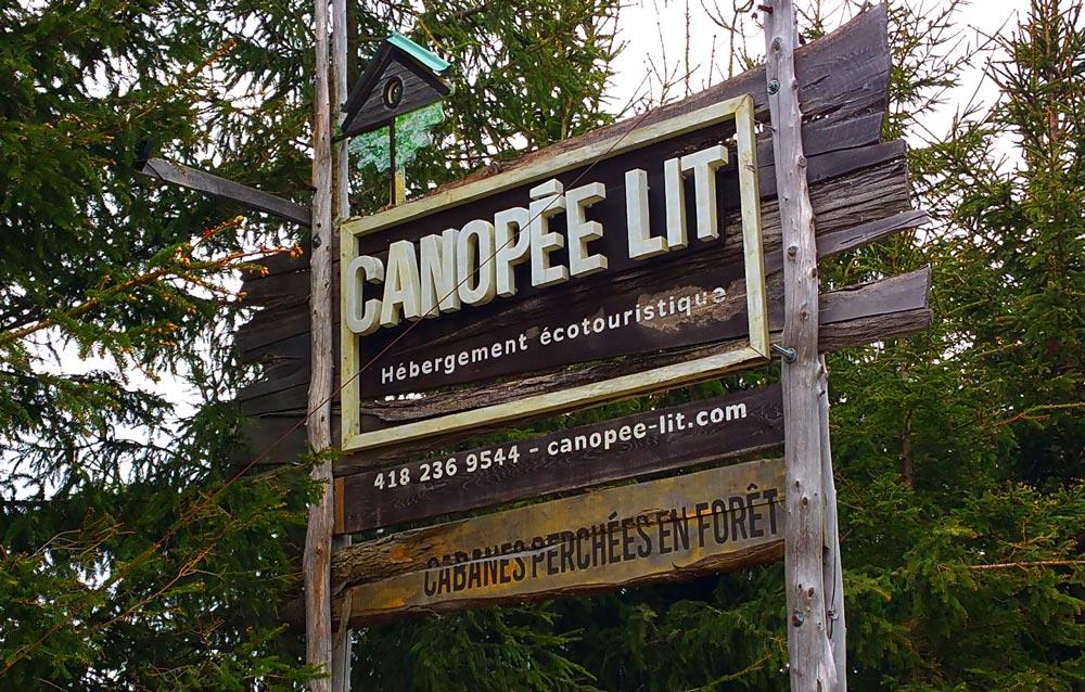 Canopée Lit