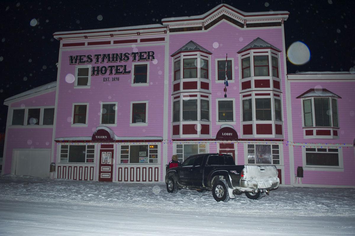 Westminster Hotel, Dawson City, Yukon, Canada