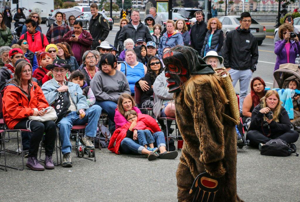 Wild Woman of the Woods Le-La-La Dancers aboriginal culture