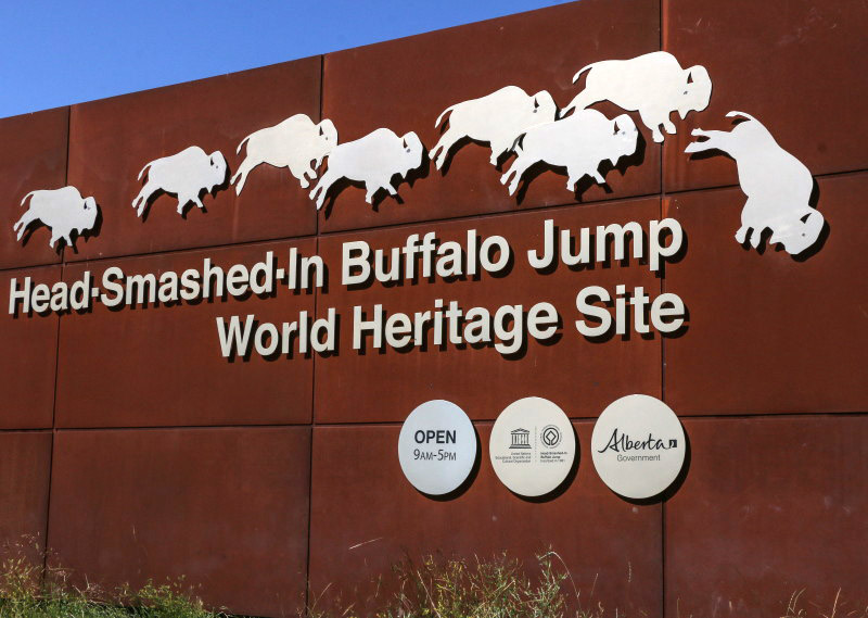 Head-Smashed-In Buffalo Jump World Heritage Site