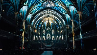 Aura at Notre-Dame Basilica