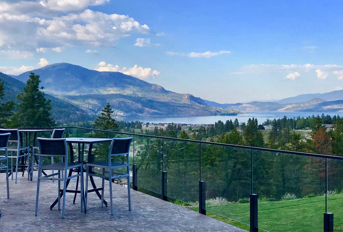 Okanagan wine country