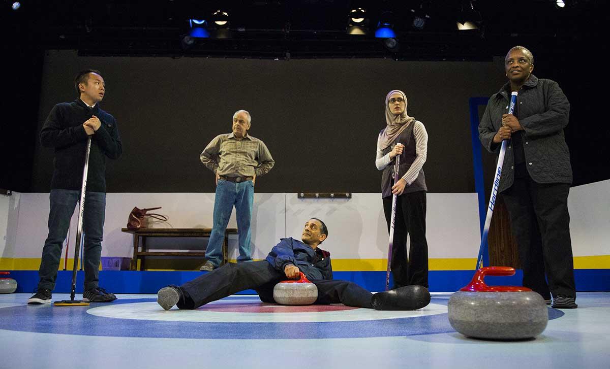 Blyth Festival The New Canadian Curling Club