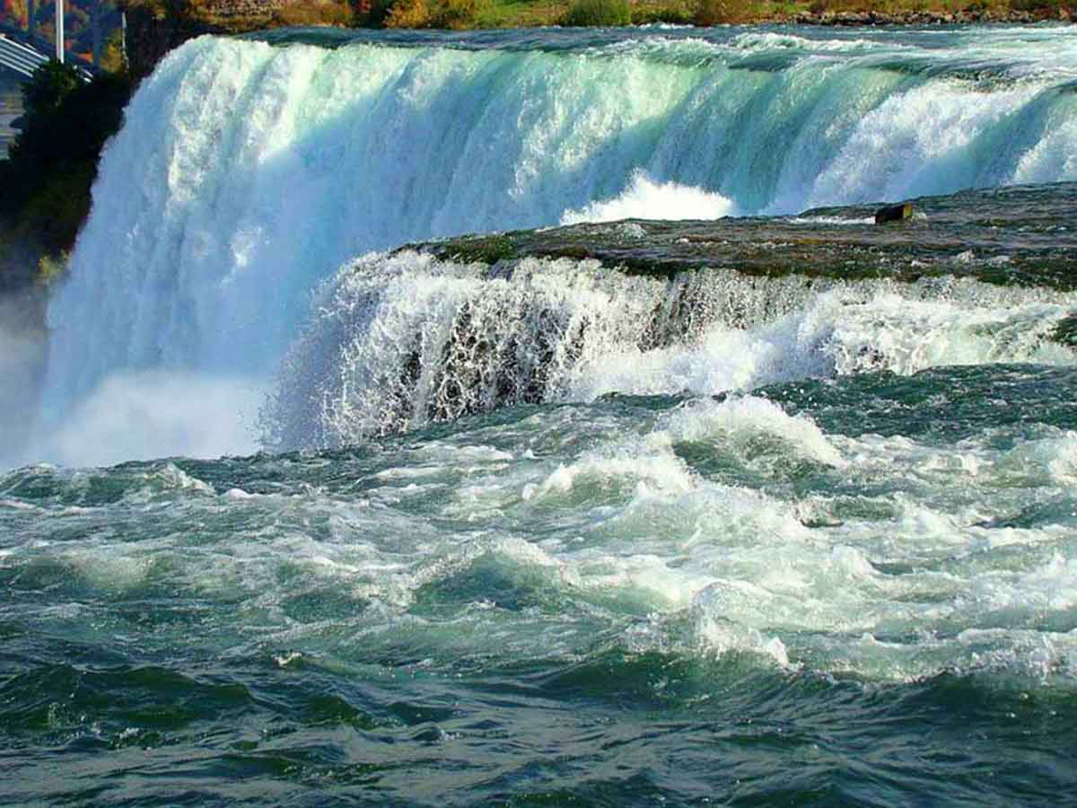 Over the edge at Niagara Falls – photo courtesy of Bobby Mikul