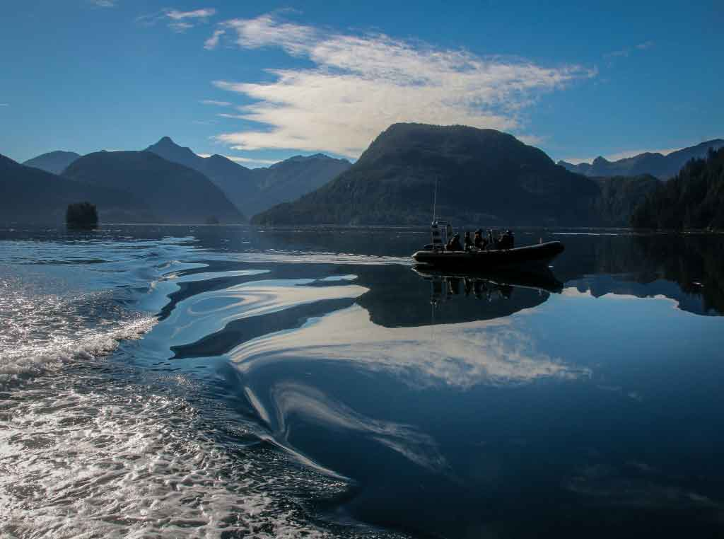 Haida economy - Photo copyright Hans Tammemagi