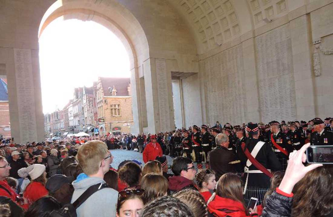 Menin Gate in Ypres Belgium - Remembrance Day - A Century of Remembrance in Canada