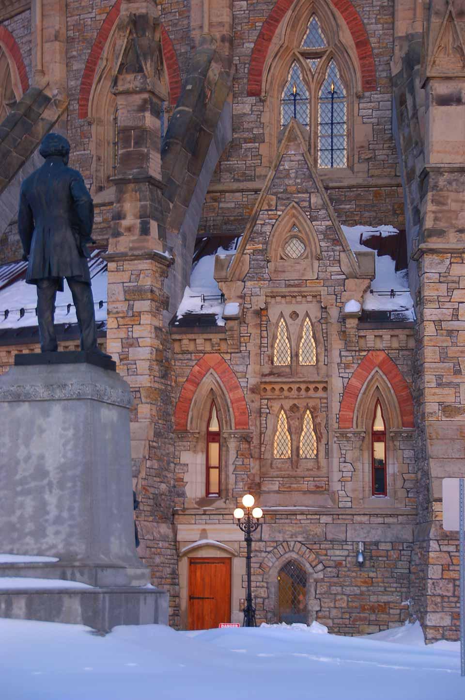 Ottawa Parliamentary Library exterior